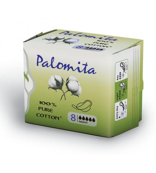 Паломита Pure Cotton Нощни - чист памук