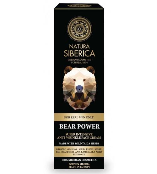 Natura Siberica - Органичен крем за лице против бръчки за мъже 50 мл.