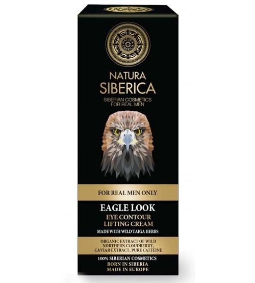 Natura Siberica - Органичен околоочен контур с лифтинг ефект за мъже 30 мл.