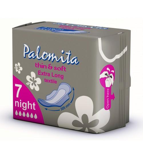 Нощни превръзки Паломита Extra Long, 7 бр.