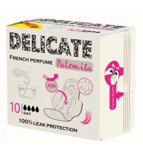 Дамски превръзки Паломита Delicate French perfume 10 бр. дневни
