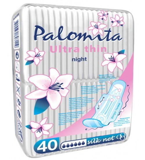 Нощни Превръзки Паломита BLUE CORE 40бр.