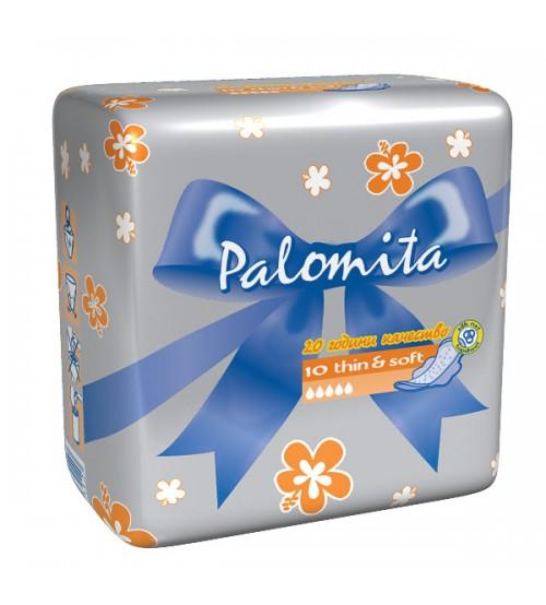 Дневни Превръзки Паломита Thin&Soft 10бр.