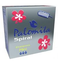 Тампони Паломита мини спирални 8бр.